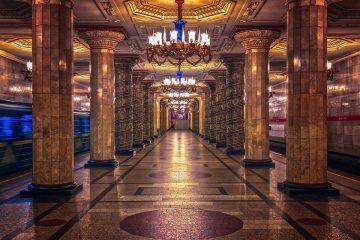 Russia Ruble Metro